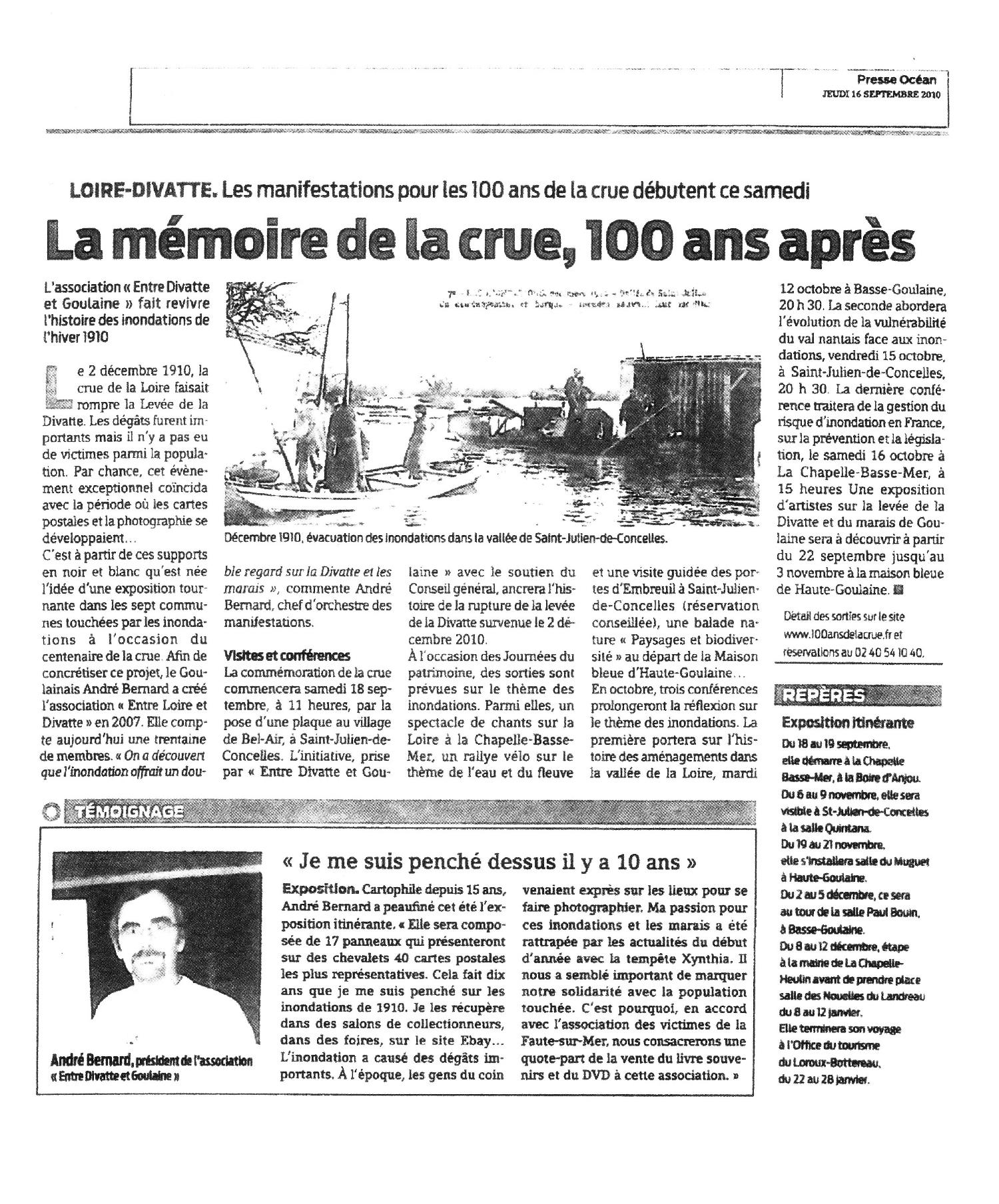 Presse ocean bis 16 septembre 2010